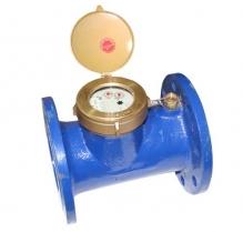Đồng hồ nước lạnh FUZHOU cơ LSX- Thân gang, nối bích