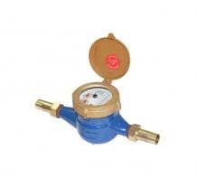 Đồng hồ nước nóng loại từ NingBo, thân gang - nối ren