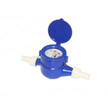 Đồng hồ nước lạnh loại cơ NingBo, thân nhựa ABS - nối ren