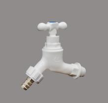 Vòi nhựa tay xoáy nối ống mềm đồng MH