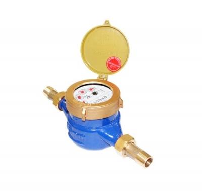 Đồng hồ nước lạnh FUZHOU cơ LXS - Thân gang, nối ren