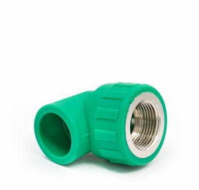 Cút ren trong PPR màu xanh